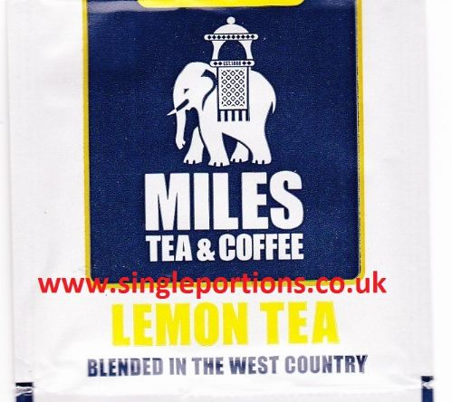 LEMON tea bags - foil sealed - full strength fresh cup every time